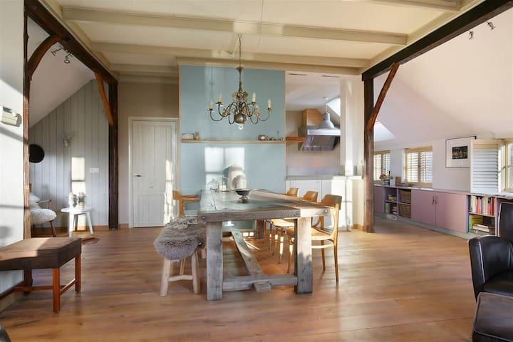 Landelijk ,romantisch vakantiehuis in Drenthe - Annerveenschekanaal - Hus