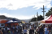 Wellington's largest fresh food market, right across the road is open every Sunday