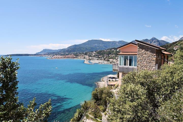 CA' DEL SOL    Grimaldi, Balzi Rossi,Costa Azzurra