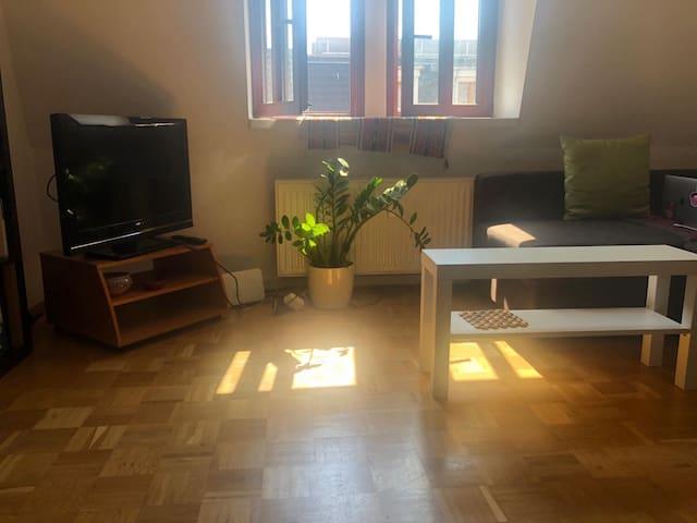 Gemütliche Wohnung in Top Lage (English below)
