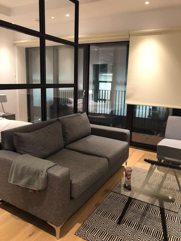 Luxurious Studio next to tube station