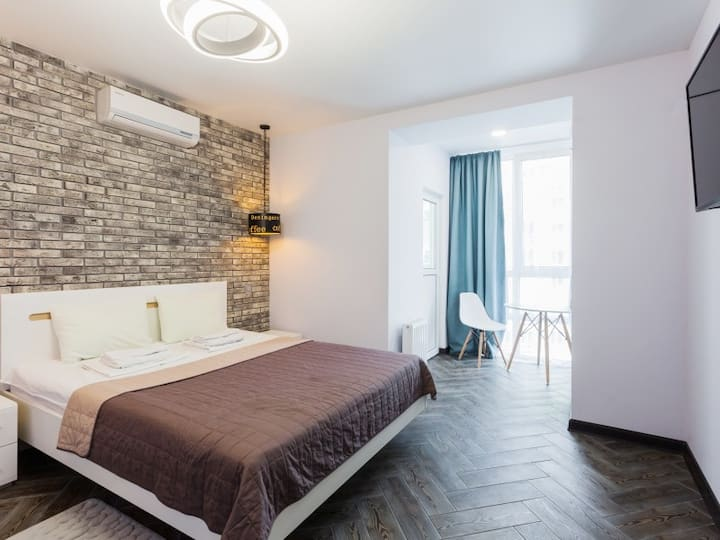 Cozy and clean apartment  in new building