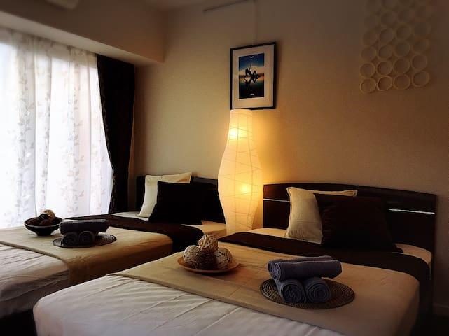 Ueno 2min train/Japanese Modern Room 4peaple - 台東区 - อพาร์ทเมนท์
