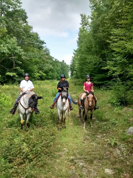 Having a fun ride in one of our local state parks