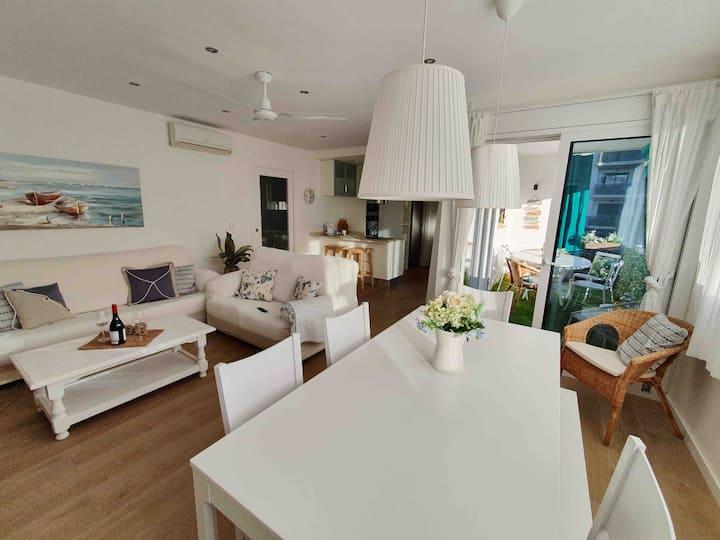 Precioso apartamento para disfrutar en família.