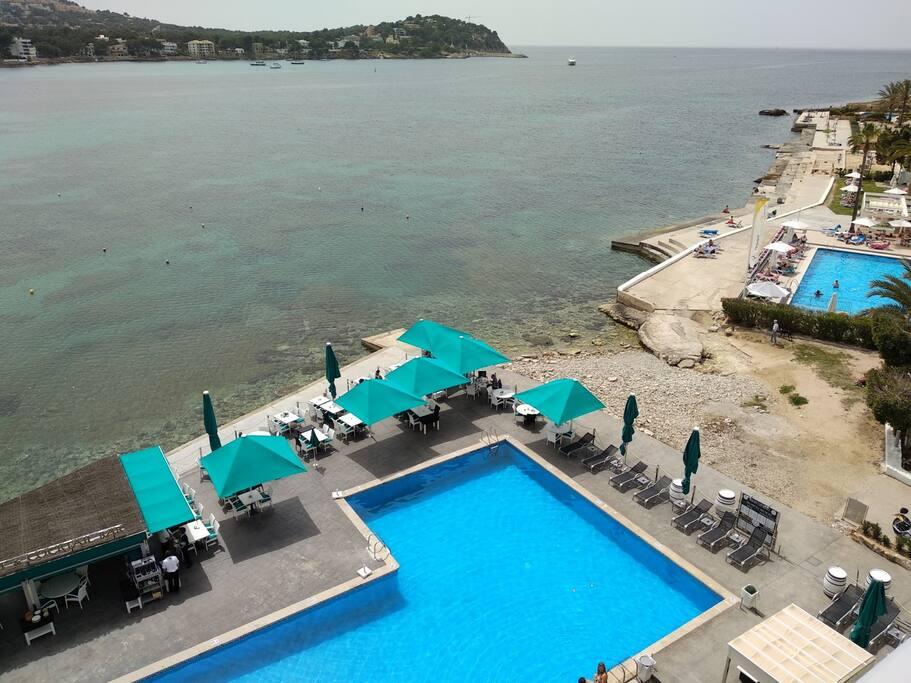 View from terrace - Vista desde la terraza