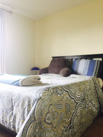 Private/Clean/Safe Bedroom Close to Manhattan - Secaucus - Casa