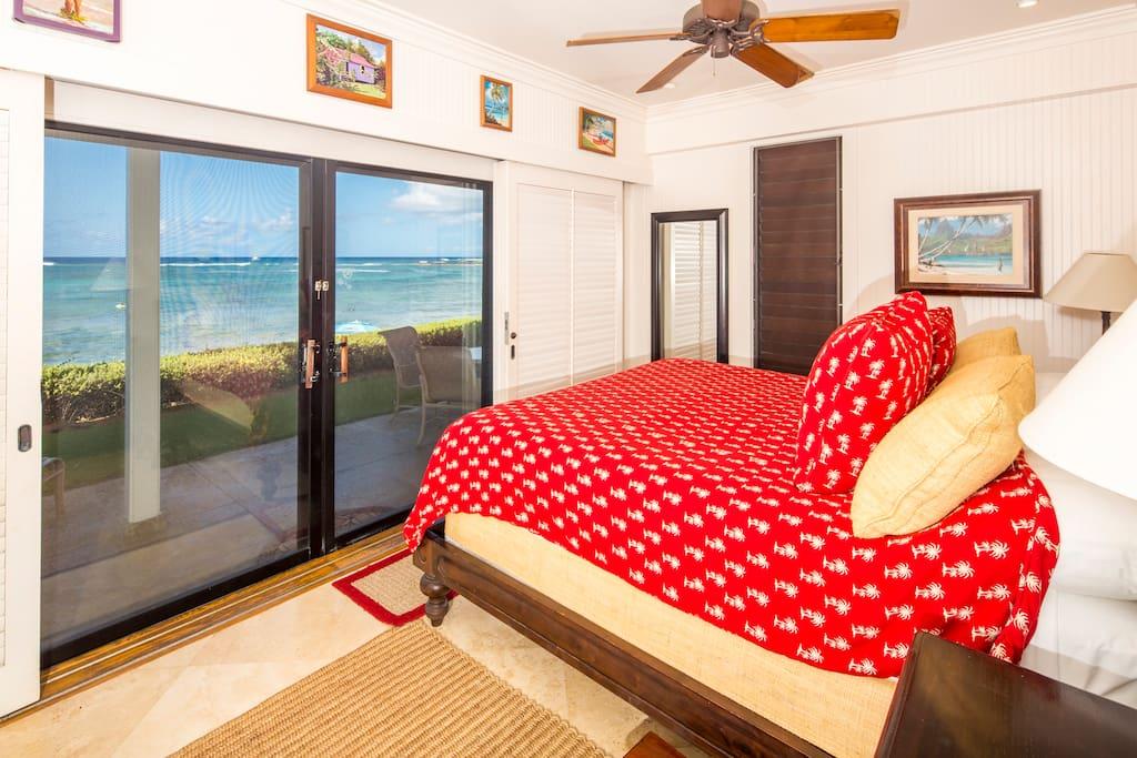 Master Bedroom - Beach Front