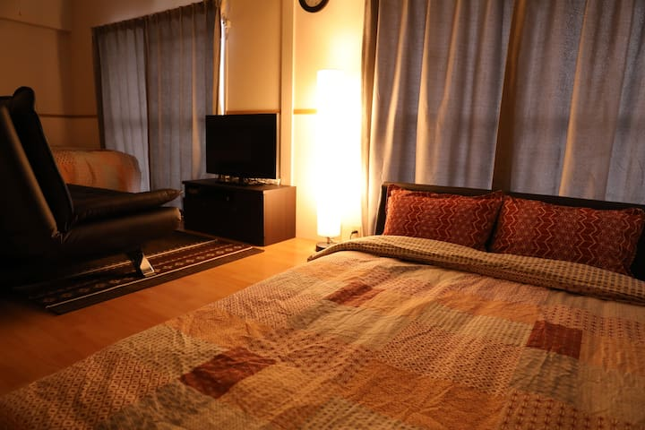 Clean&Cozy Near City center Sakae! free Wi-fi!