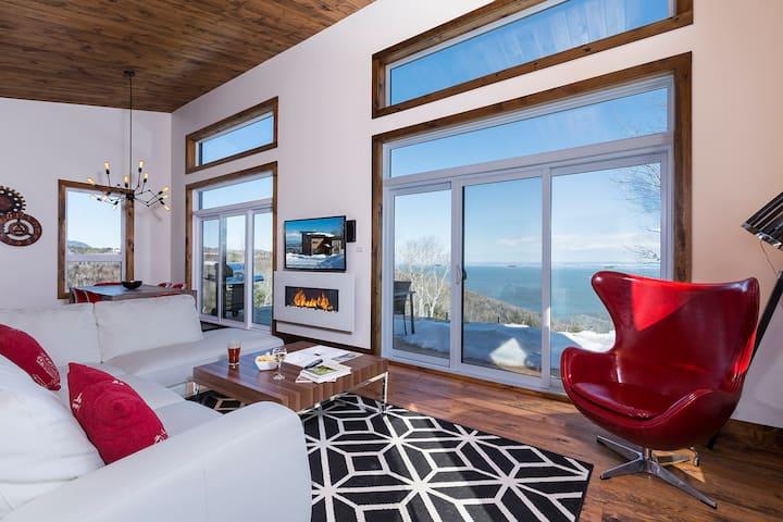 Hotel at home - The Horizon, spa & river
