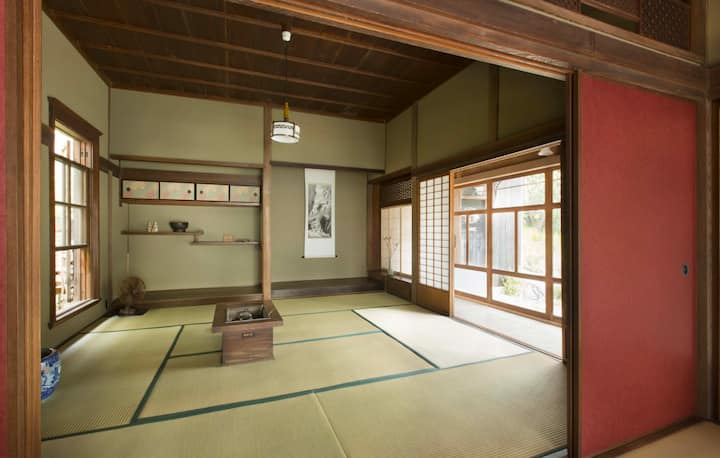 The old country house transferred to Kamakura