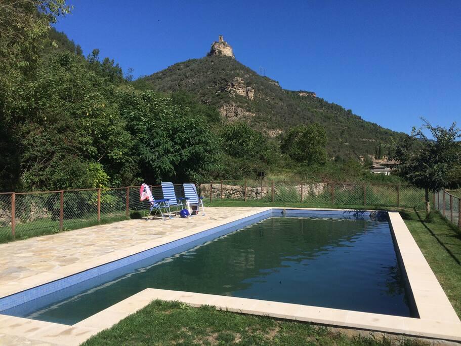 Natuur(zwem)bad privé, geen chloor.