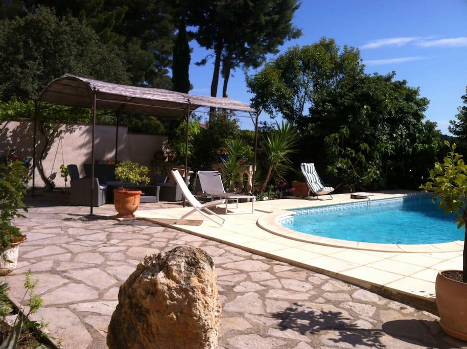 Appartement ind pendant dans villa avec piscine for Cash piscine jacou