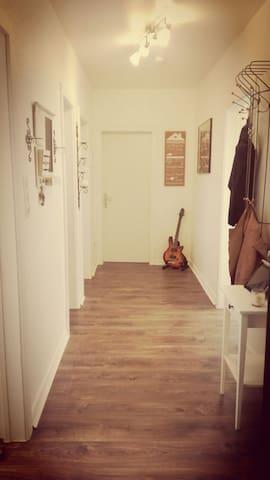 Großzügige Wohnung 15 min to center - Hamburg - Appartement