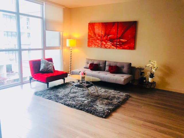 Spacious One Bedroom Apartment In Center DTLA