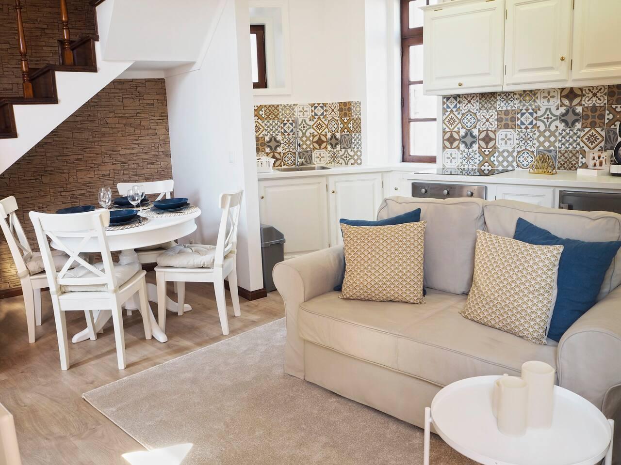 Um espaço confortável para se sentir em casa | A cozy space for you to feel at home.
