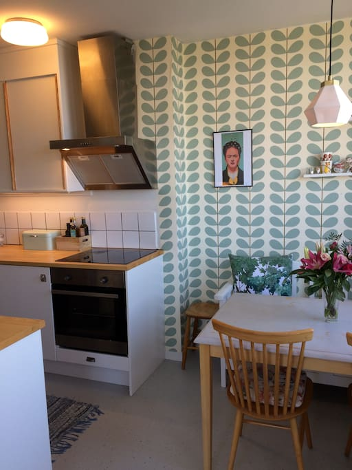 Kitchen renovated 1.5 years ago in this 1950s apartment
