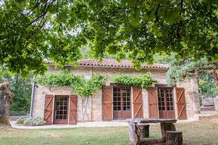 Maison sur parc arboré - Saint-Antonin-Noble-Val - Casa