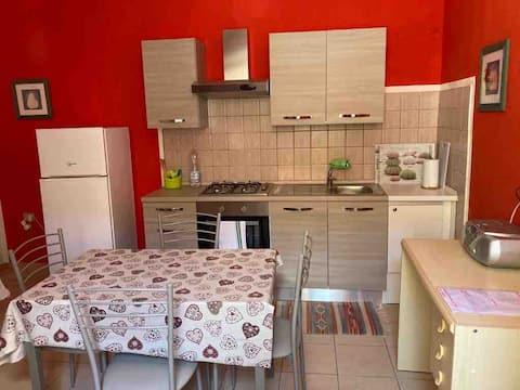 Berchidda: bright renovated apartment