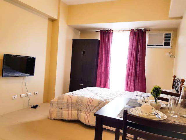 Affordable&Fully-Furnished Studio Rm @Cebu IT Park