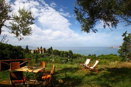Apt Bengodi Azzurro - sea view - Talamone