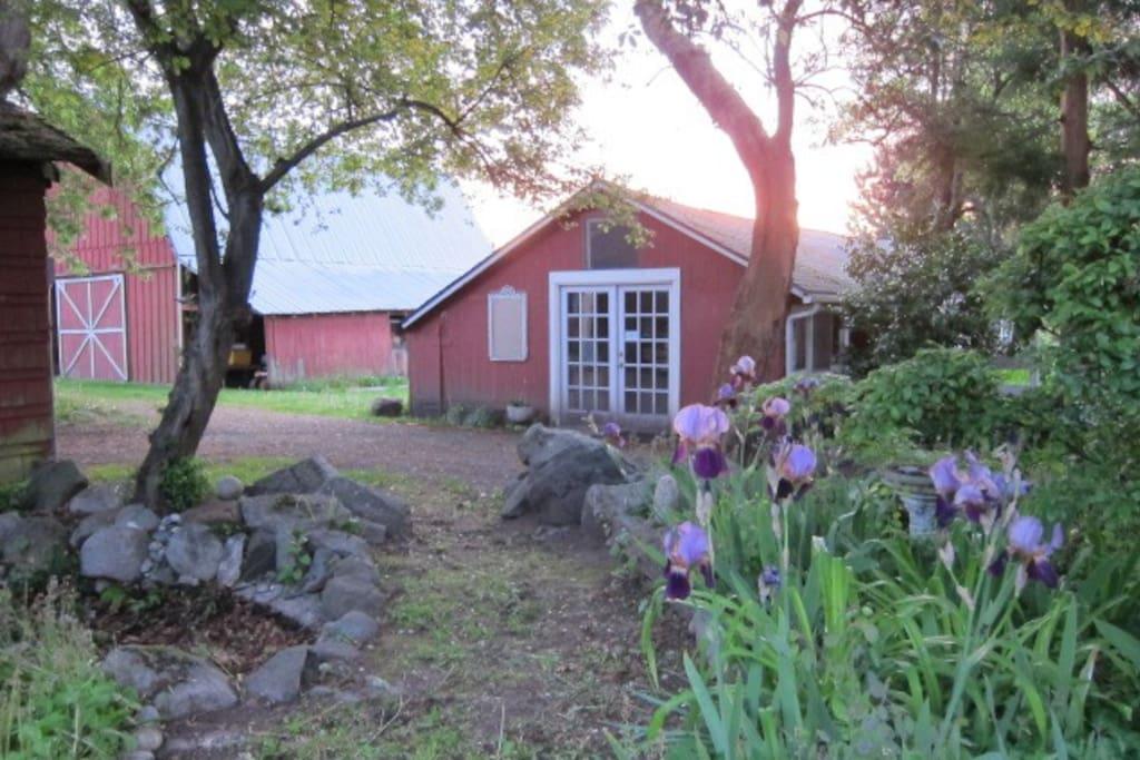 Entrance to the Enchanted Garden.