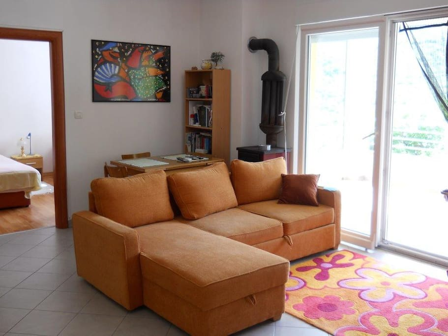 Living-room - sofa (2 extra beds)
