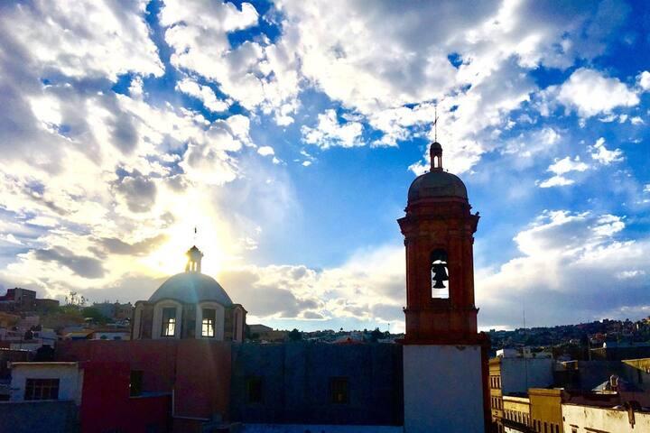 Recamara King Size en el Corazón de Zacatecas