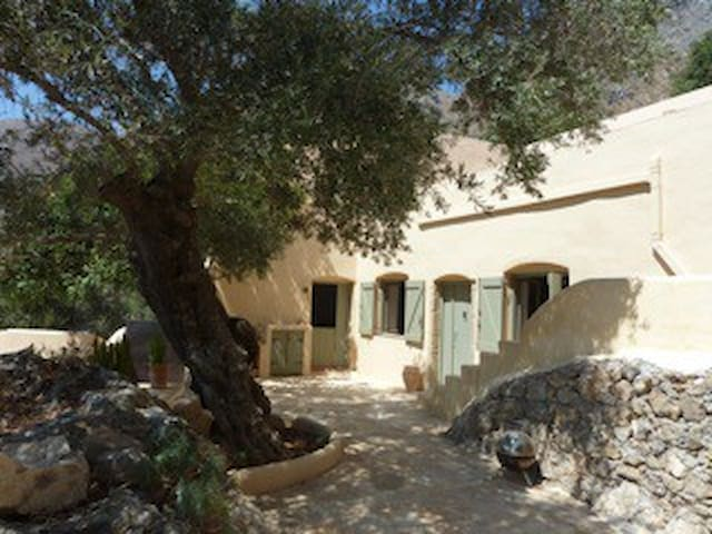 Painters House on southern Crete - Kolokassia - Casa