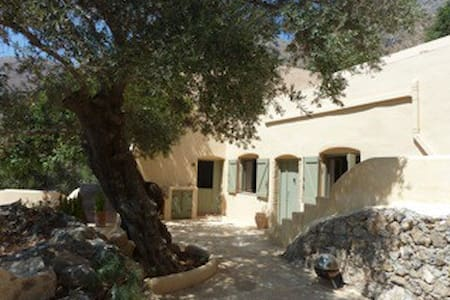 Painters House on southern Crete - Kolokassia - Dom