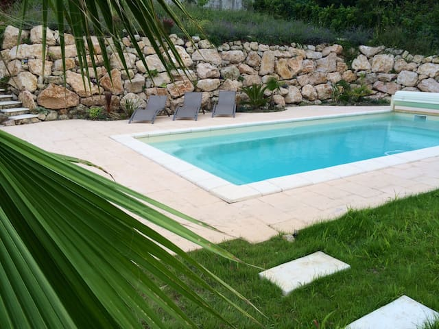 Villa with private pool 5 min to Beach & Cannes
