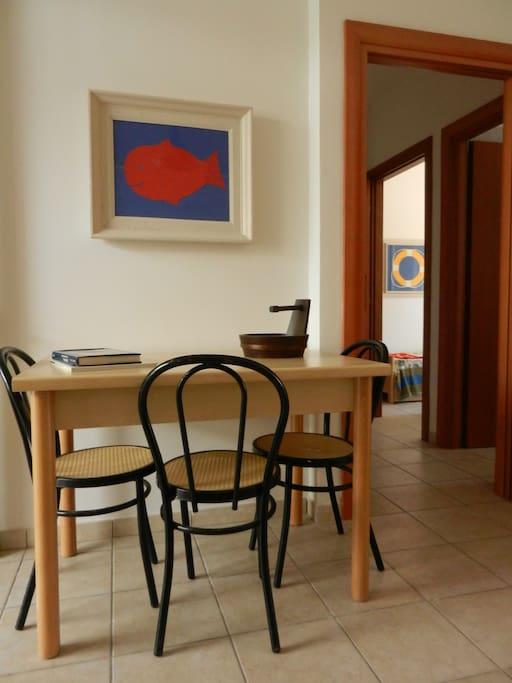 La zona giorno - The living room