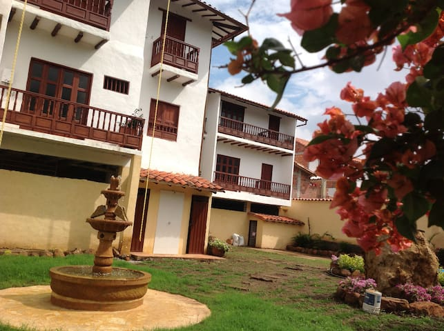 Casona EL RETIRO BARICHARA apto.103 - Barichara - Appartement