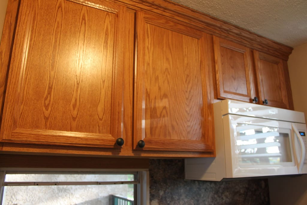 Newly Renovated Kitchen, with new over the Range Microwave