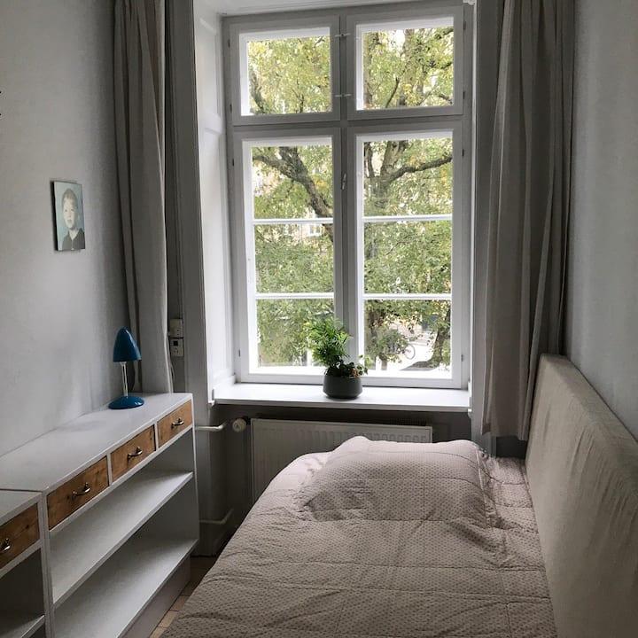 Det smukke stille Frederiksberg  i København.