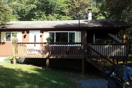 Cute Pocono home with skiing, pools, and beaches