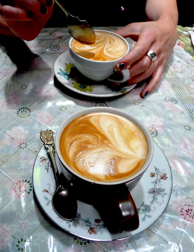 Coffee temptation - Melbourne is renowned for its coffee culture.