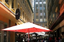 Famous DeGraves Street only 5 minutes walk away. (350m)