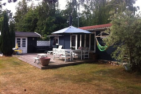 Holiday Home on the cozy Island Orø, 50 km to Cph. - Holbaek - Hytte