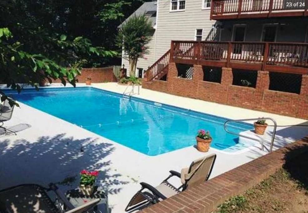 Pool Open Memorial day to Labor Day