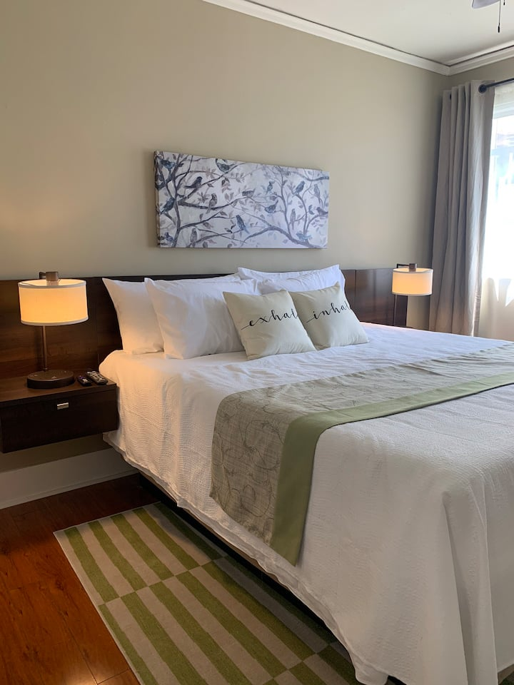 Downtown King Deluxe 1 bedroom w/ city view