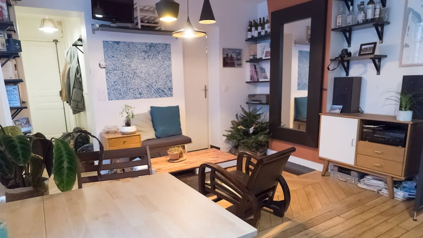 Superb apartment next to the Canal St-Martin