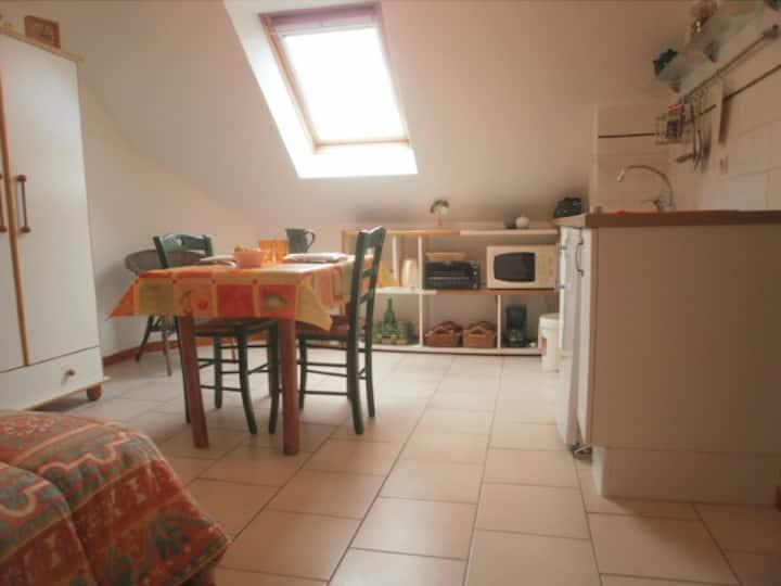 Cosy studio en Normandie