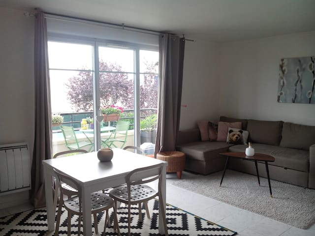Joli F2 à 20 min de Paris - Calme - - Conflans-Sainte-Honorine - Appartement