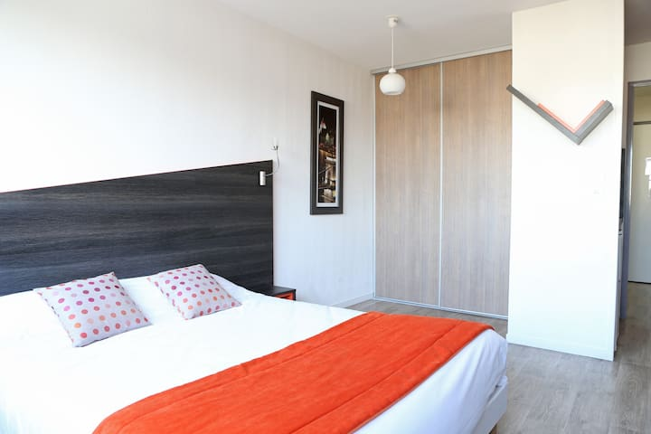 Studio 22m² avec balcon dans résidence au sud de Paris