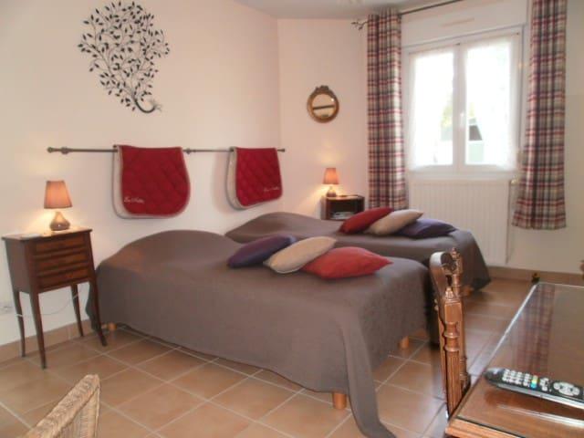 Chambre de charme en Normandie - Auvers, Manche - Casa