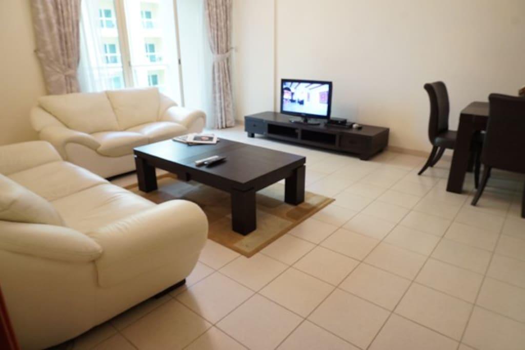 Satellite TV lounge