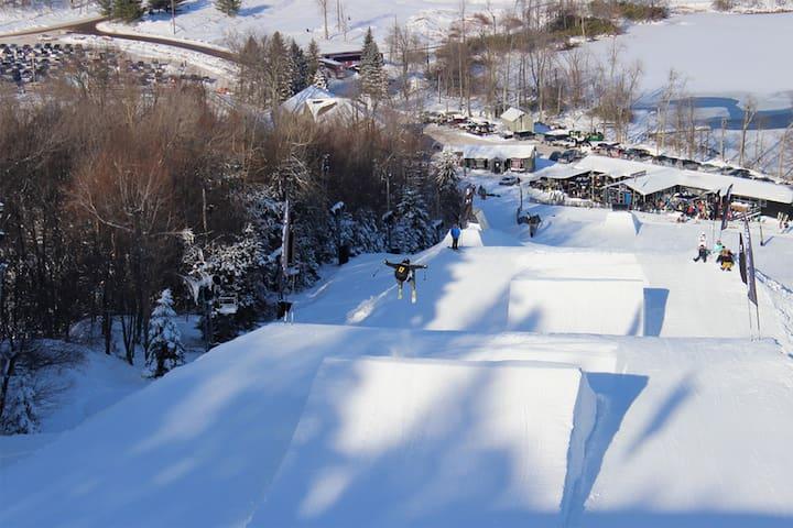 Cozy cabin ski retreat/summer getaway - Blakeslee
