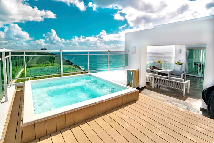 Ocean Front Penthouse Rooftop Costa Atabey 2