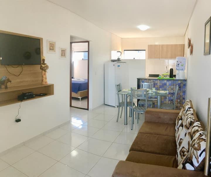 Apartamento Mobiliado em Maragogi c/2 quartos